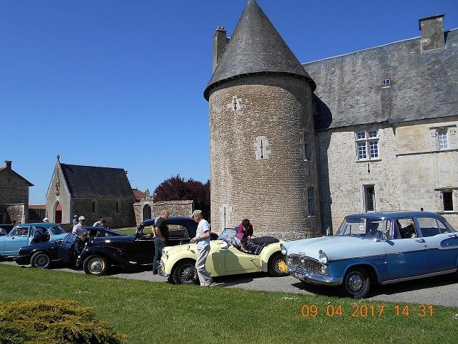 Vieilles Roues Charentaises - Château Saveilles ©Photo-Owner