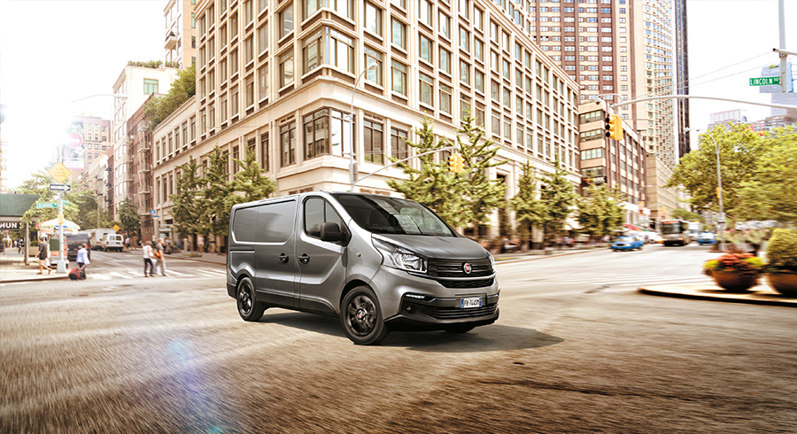Fiat Talento beim Strasser Transport und Business Center Rosenheim