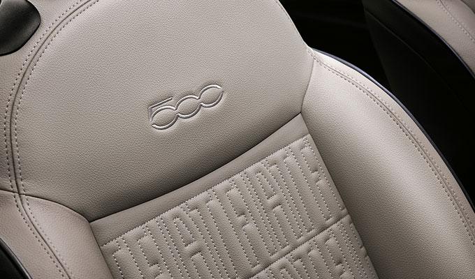 Hochwertige Ausstattung Fiat 500e