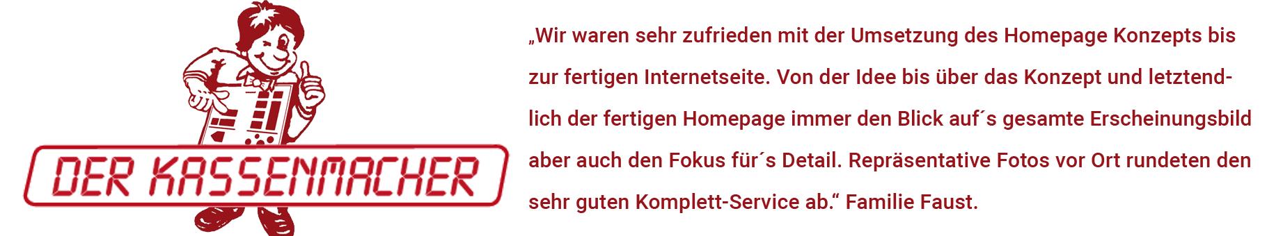 Referenz, Faust-Kassensysteme, Affalterbach