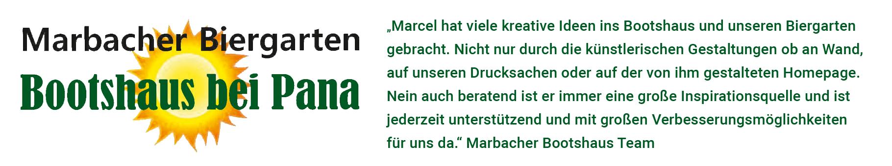 Referenz, Bootshaus-Gastronomie, Marbach am Neckar
