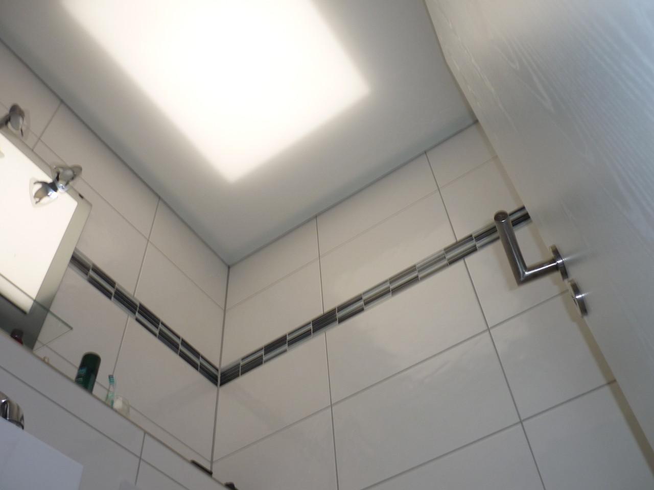 Lichtdecke weiß Gäste WC Iserlohn