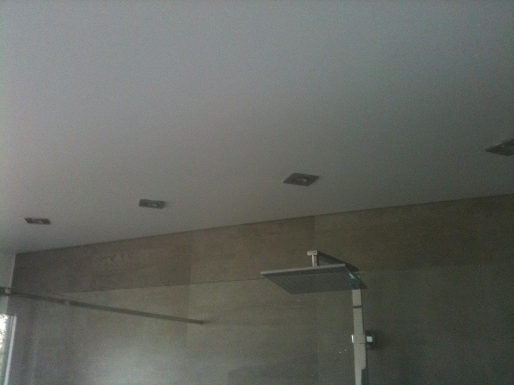 Spanndecke weiß matt Duschbad Werl