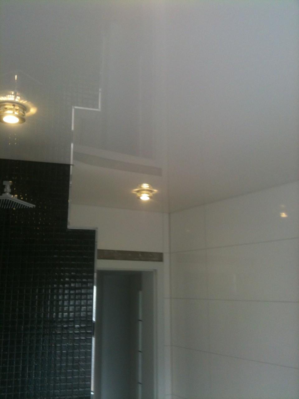 Spanndecke weiß Badezimmer Unna