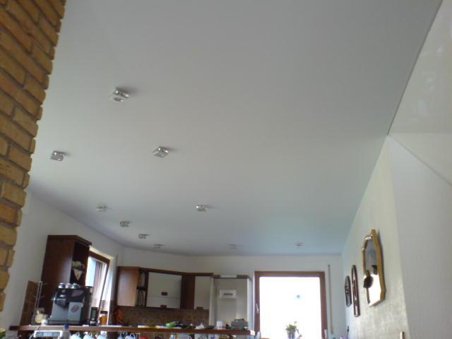 Spanndecke Weiß matt Küche Arnsberg