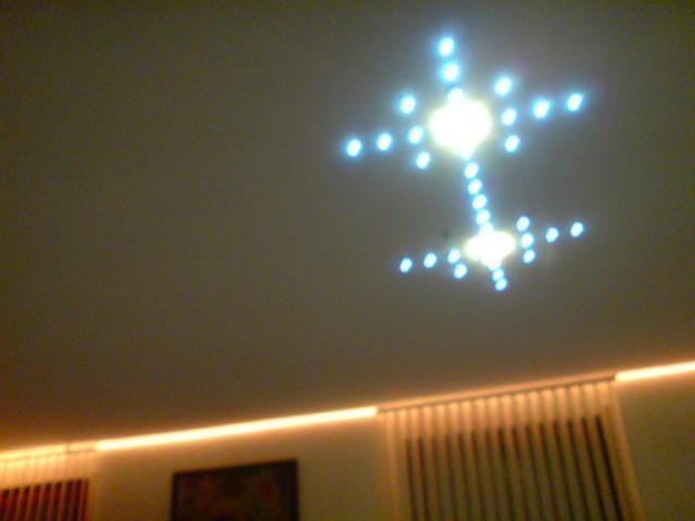 Spanndecke Weiß matt Wohnzimmer Arnsberg