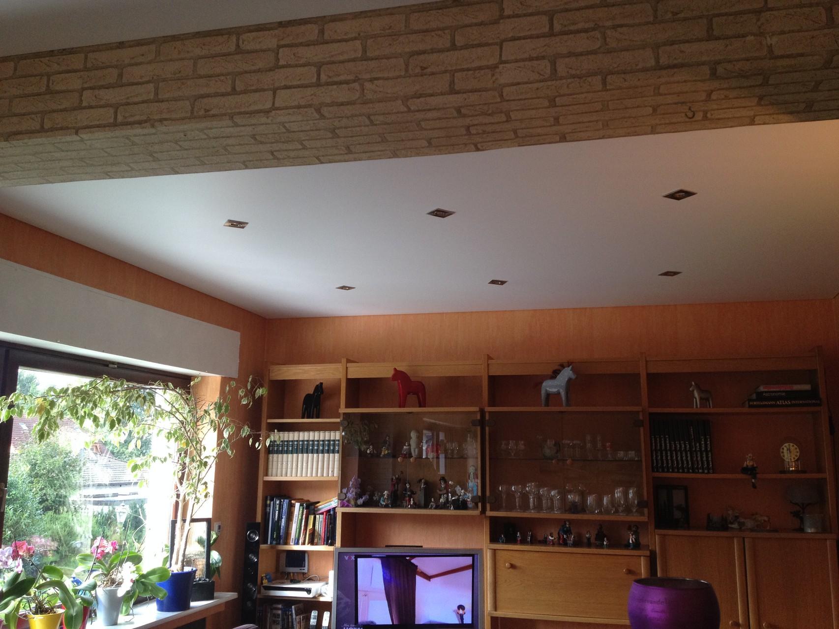 Spanndecke satin Wohnzimmer Holzwickede