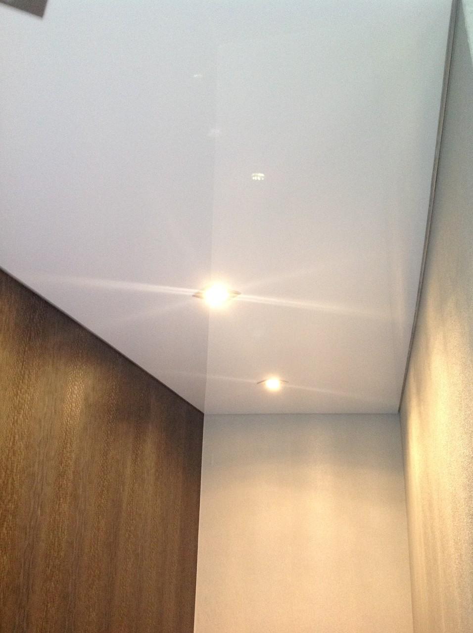 Spanndecke weiß glänzend EFH Kamen