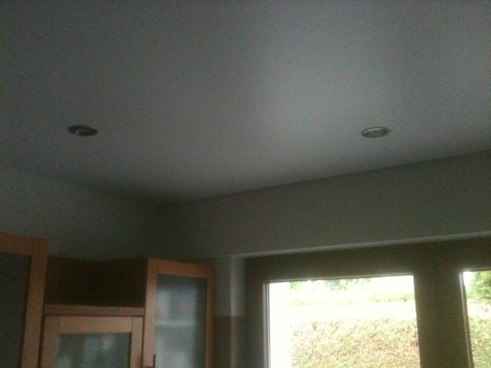 Spanndecke Weiß seidenglänzend Kamen Küche