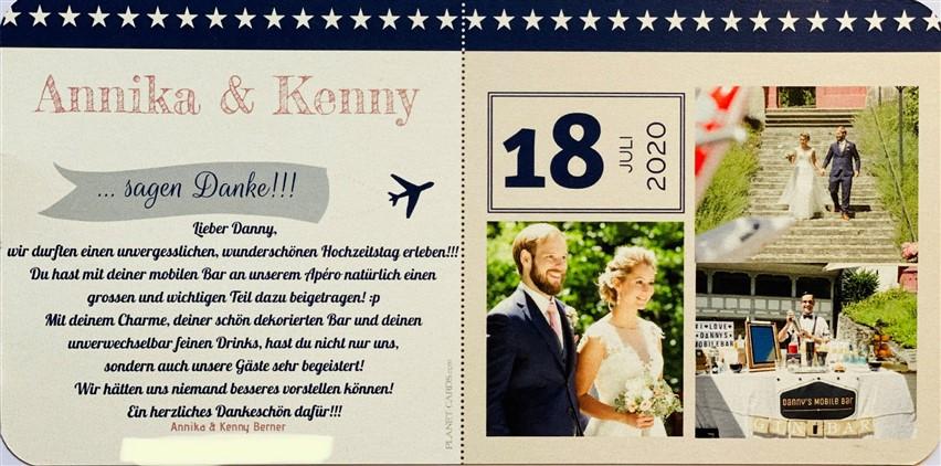 Hochzeit Annika & Kenny