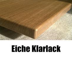 Fensterbank Eiche Klarlack