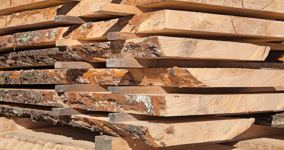 Holz für Fensterbänke