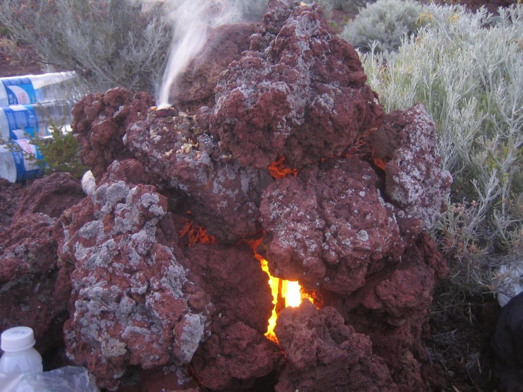 Feuer- & Räucherritual Teilnehmerin Wüstenvisionssuche -