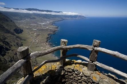 Ausblick auf Unsere Unterkunft an der Küste El Hierros
