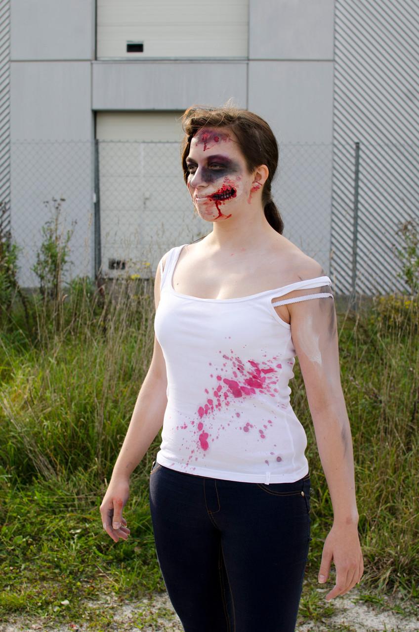 Projekt: Blutspritzer (Fotos: cavelight-arts.de)