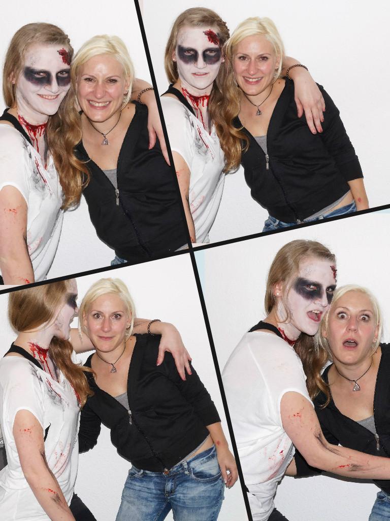 Natalie & ich, Bietigheim, 31.10.14 © bodyART Galerie