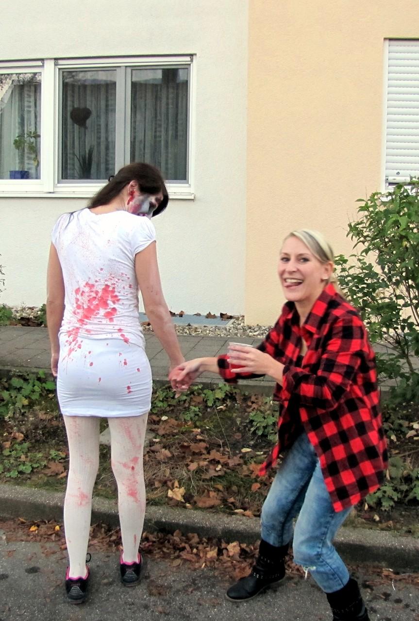 """Blutspitzer zur """"Veredelung""""... ;)"""