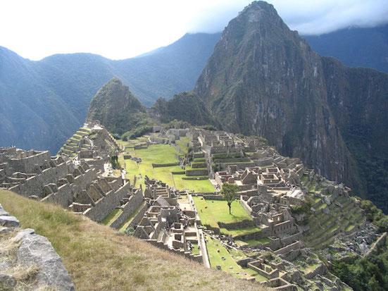 Besuch von Machu Picchu auf Ihrer Reise durch Peru und Bolivien mit BOLIVIENline