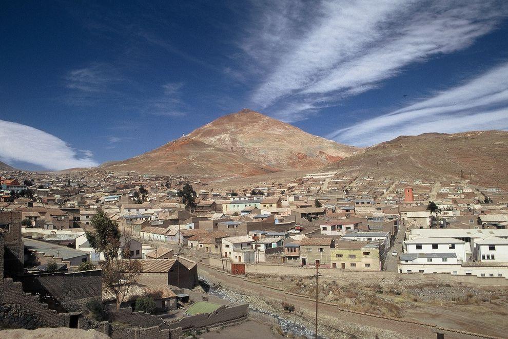 Bolivien, Tour durch die Silberminen in Potosi mit BOLIVIENline