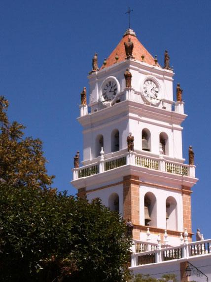 Sucre ist Boliviens schönste Stadt