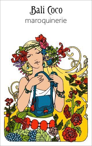 Bali Coco - Coline Chédaille illustration