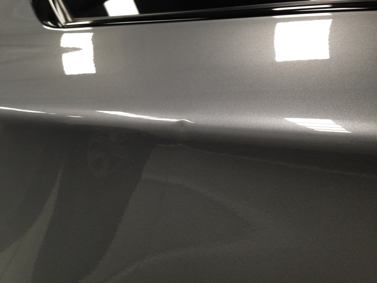 Dent on BMW Before