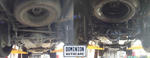Undercarriage Wash Dominion Autocare