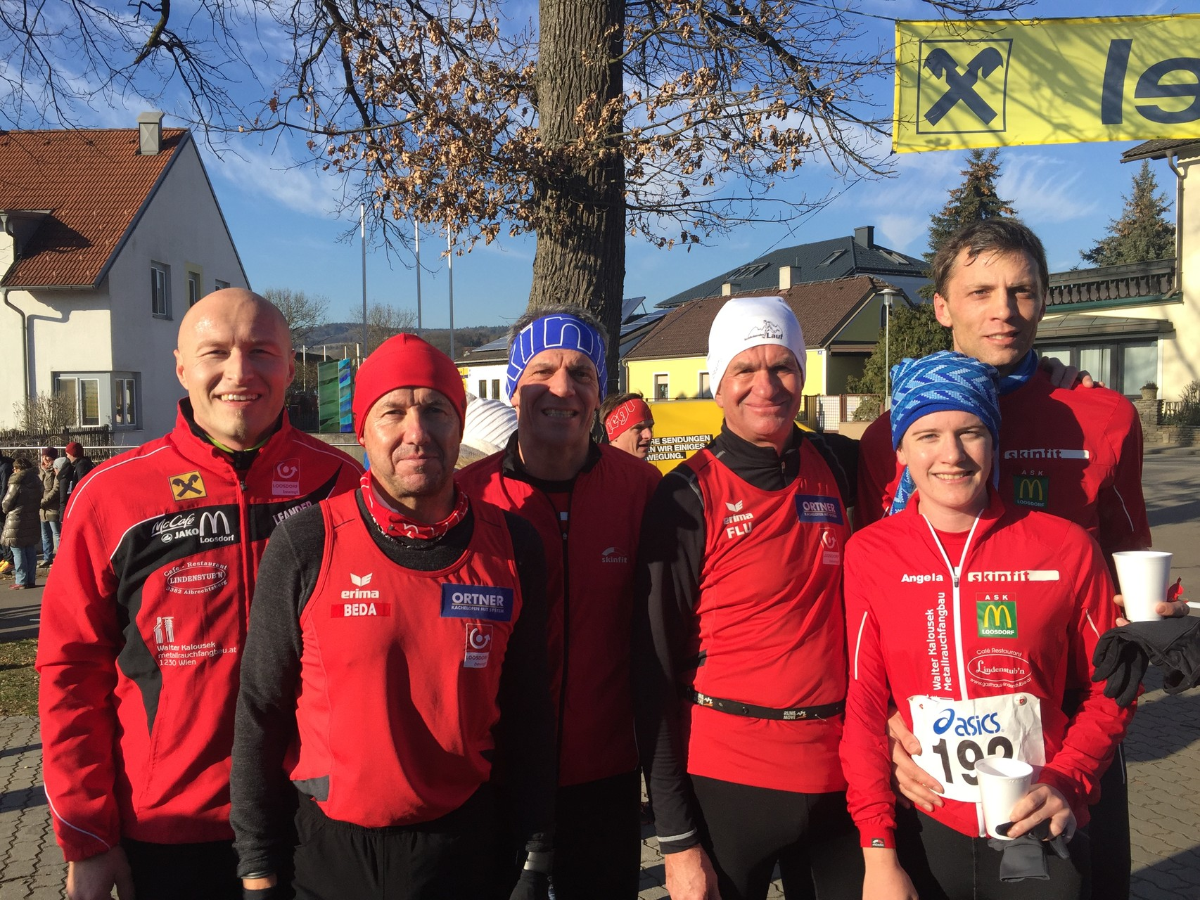 Unser 2015 Team am Silvesterlauf