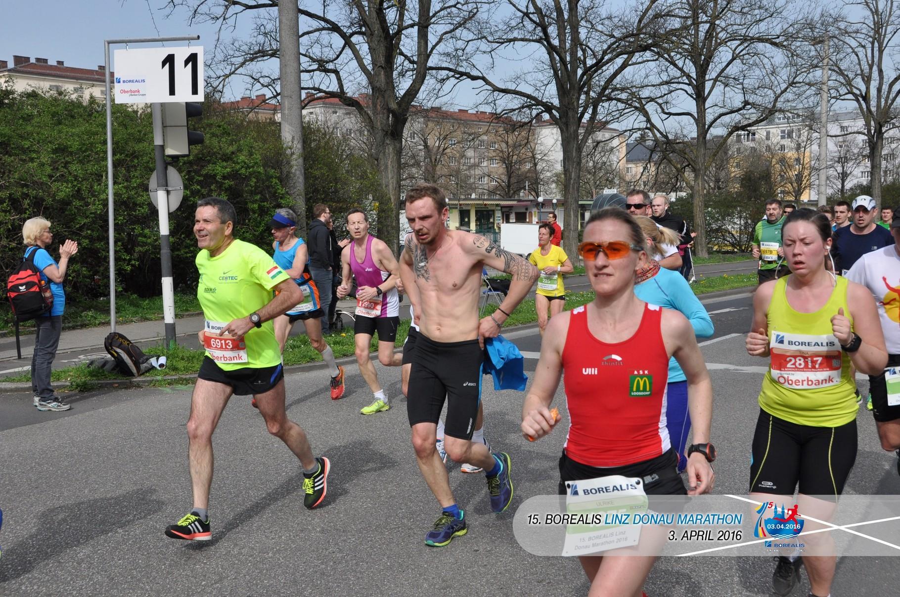 Ulli unsere Marathonfrau