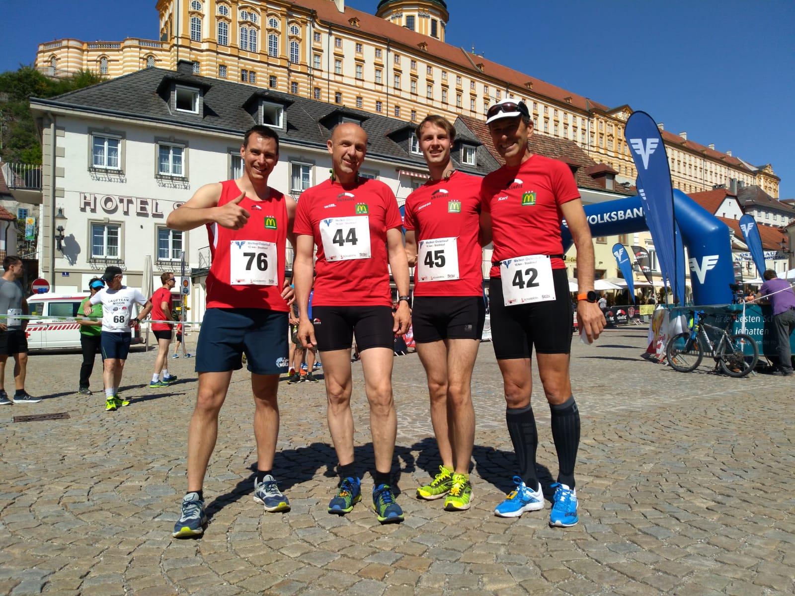 Unser 10 km-Team