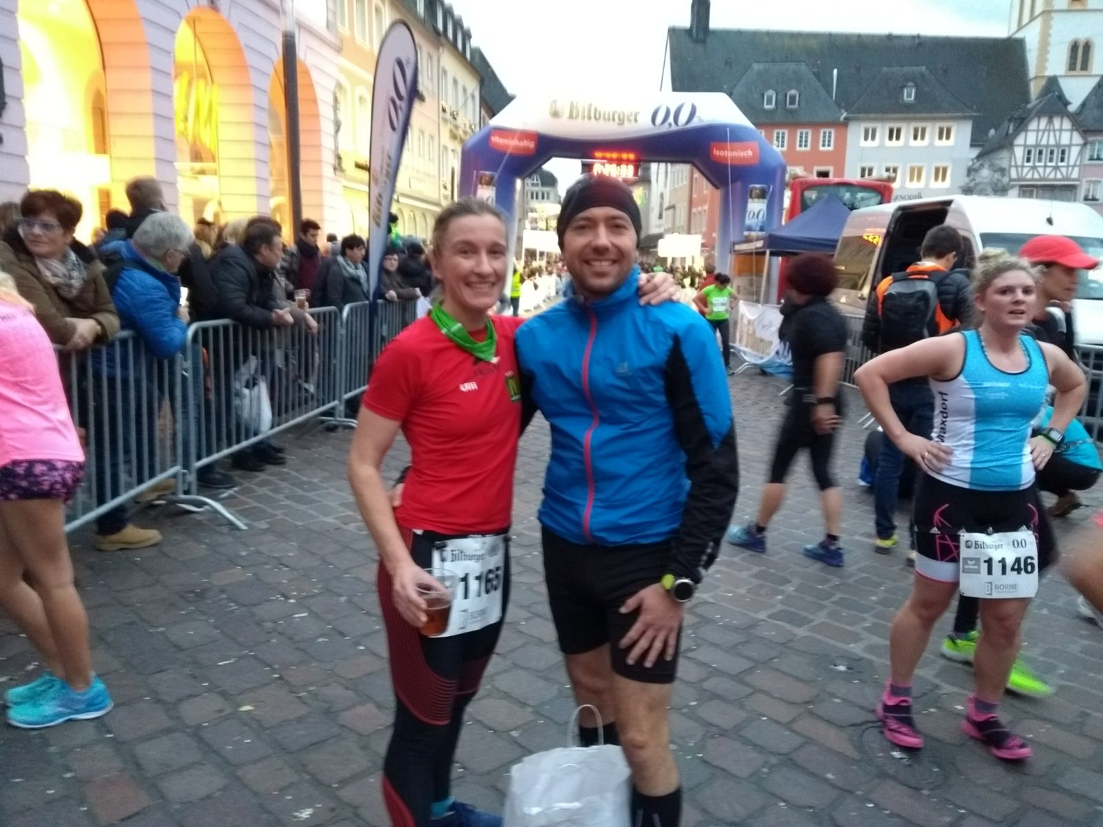 Unsere Athleten in Trier: Ulli & Christoph
