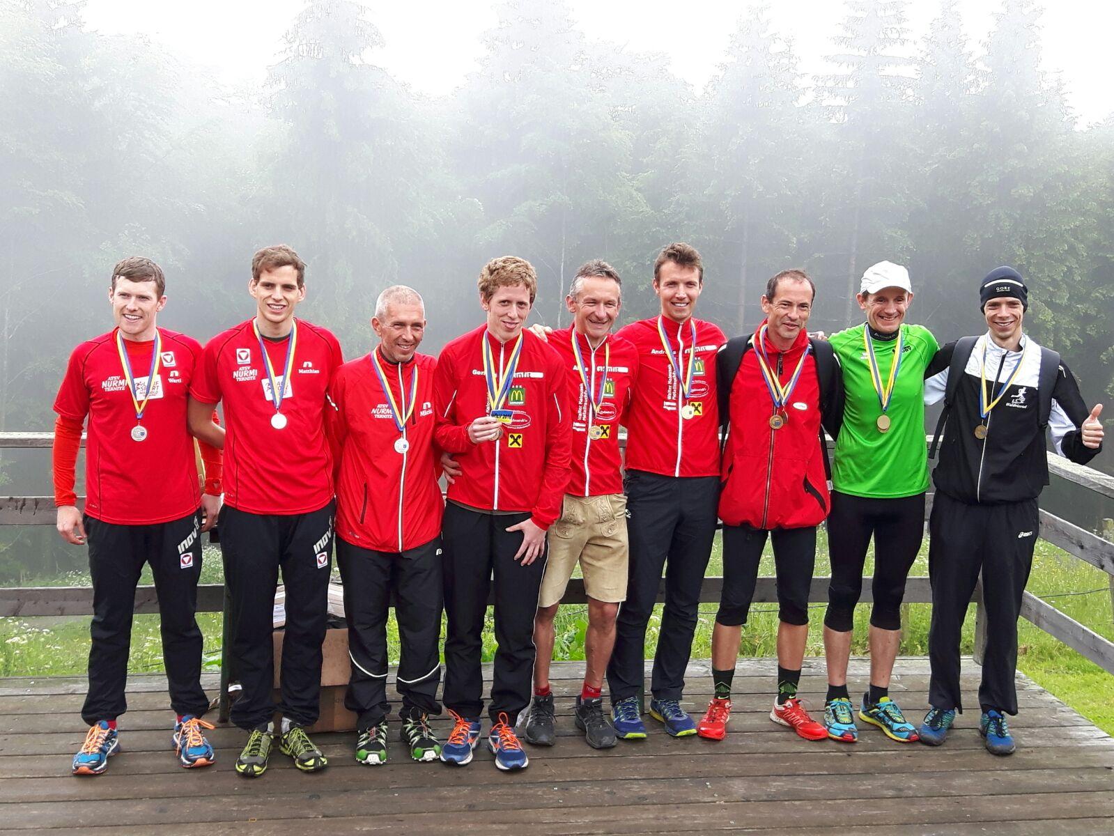Die stolzen Sieger der NÖ-Berglauflandesmeisterschaften