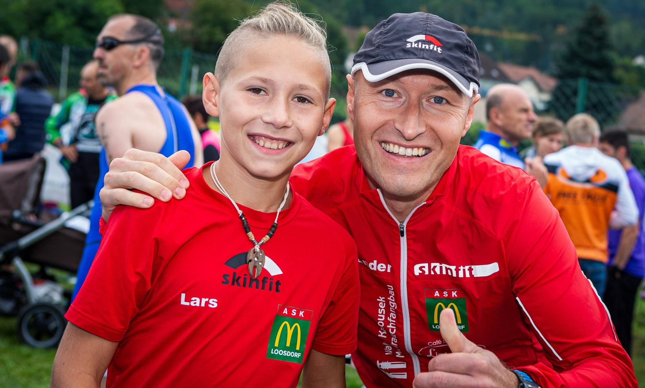 Lars, der jüngste Teilnehmer bei den Einzelstartern