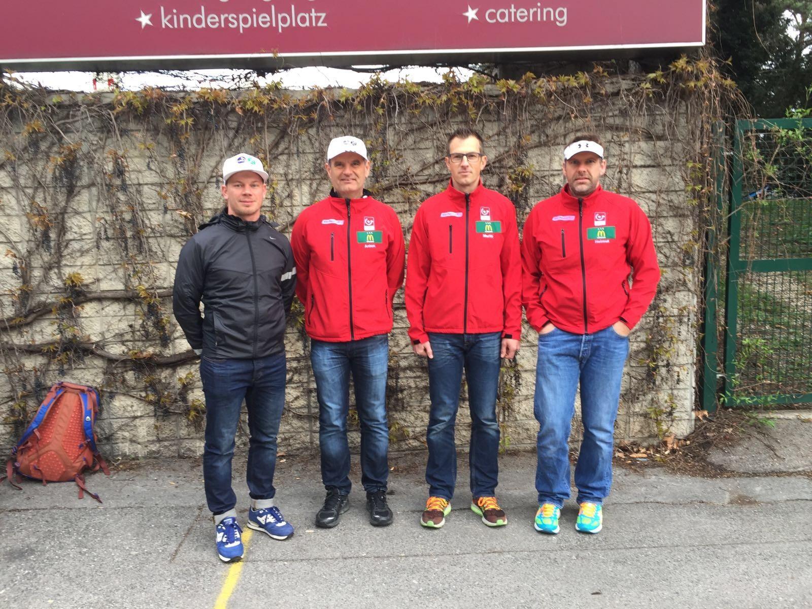 Unser Amstettner Trio lief den Staffelmarathon