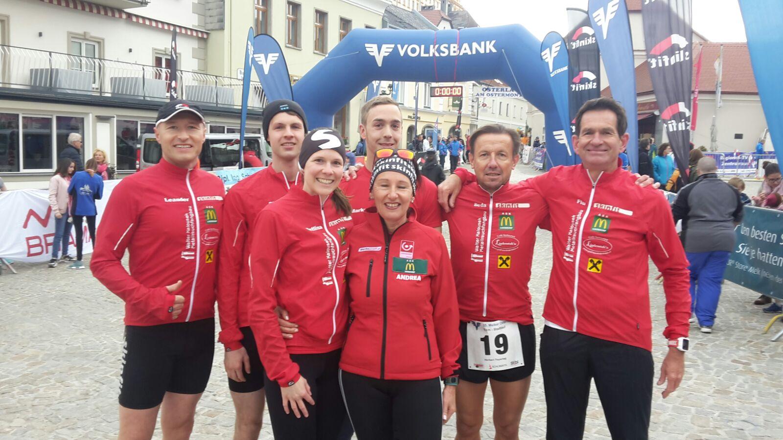 Unser 5-km Team