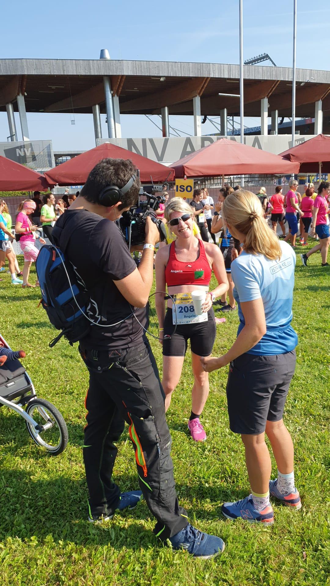 Angela schlägt sie alle! Gratulation zum Gesamtsieg über 9,8 km!