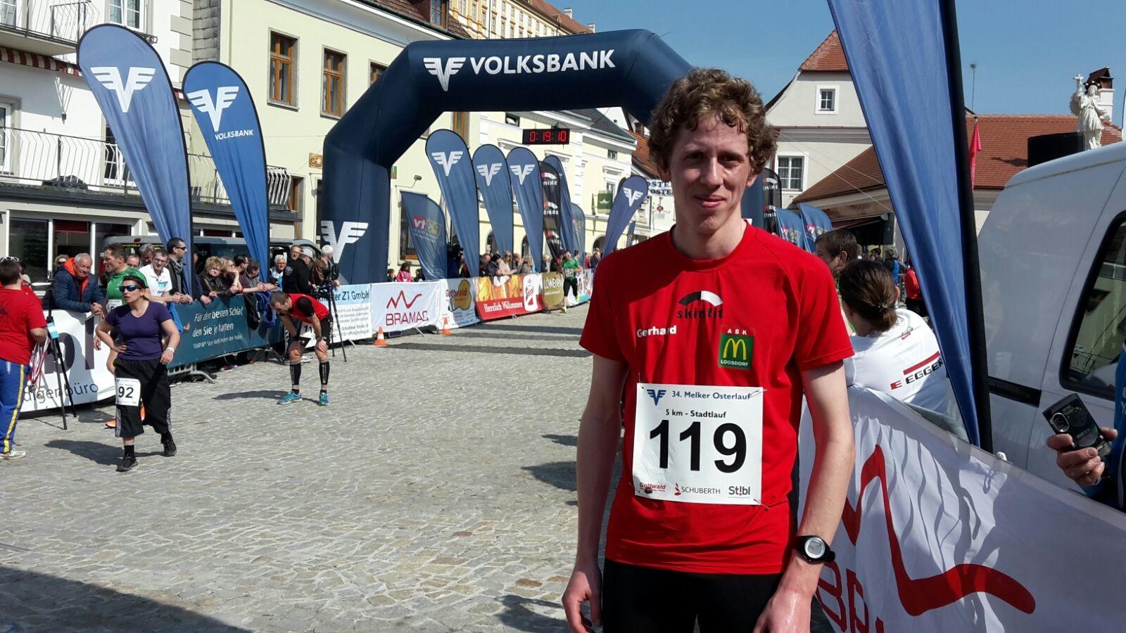 Gerhard 3. in der Gesamtwertung