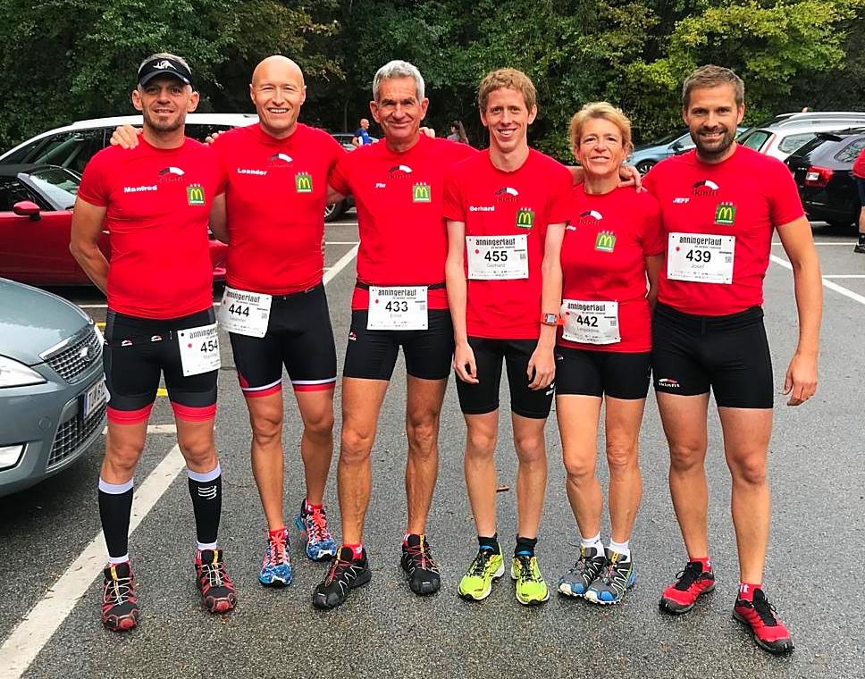 Unser Team bei den NÖ Bergmeisterschaften