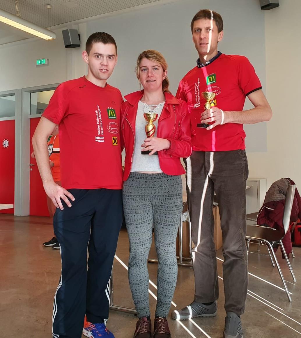 Gratulation an unsere drei Teilnehmer