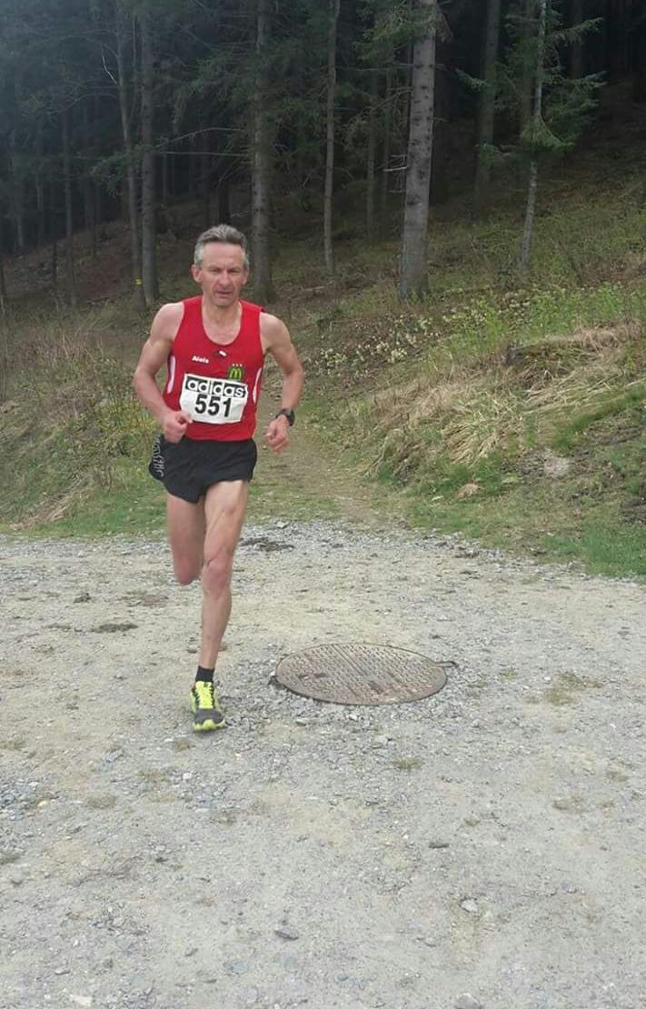 Alois Redl ist als Gesamtsieger im Ziel! Genial! Gratulation!