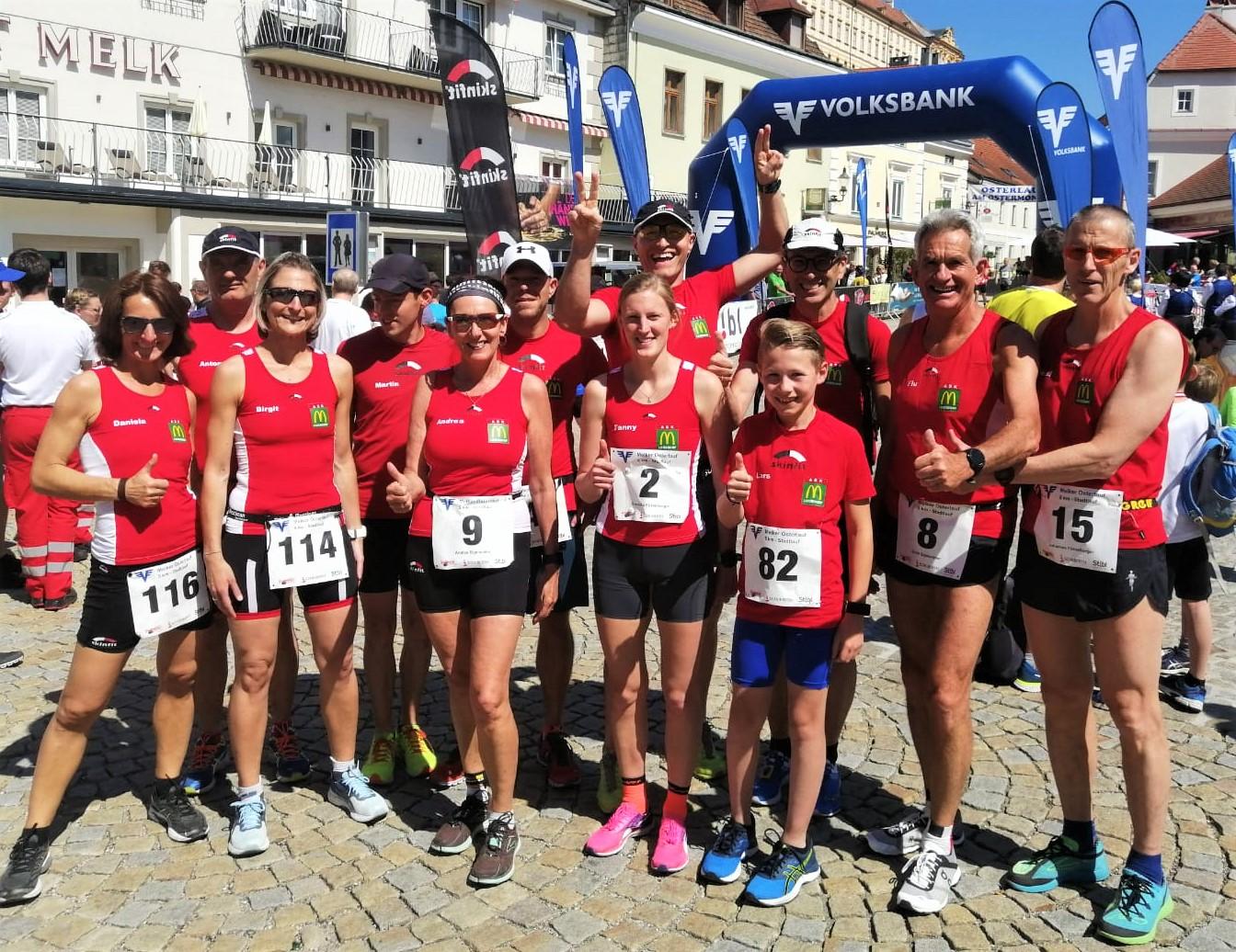 Unser 5 km-Team