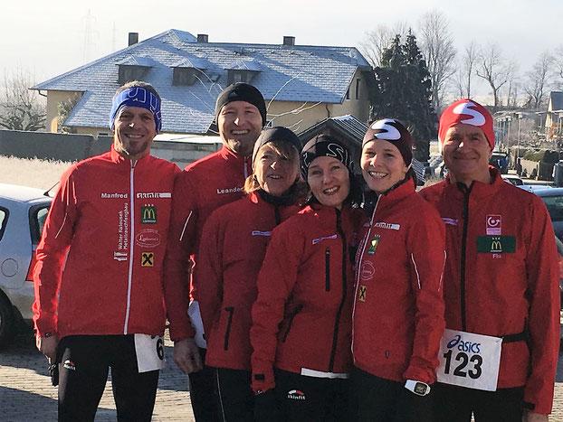 Ein super Lauf mit 160 Teilnehmer bei herrlichen Winterwetter