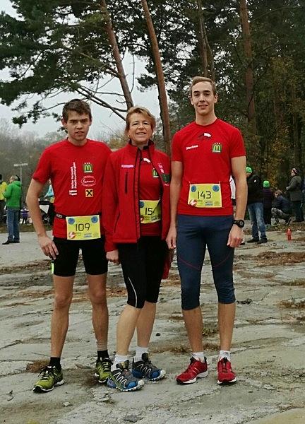 Leopoldine 1. Platz W50, Markus 3. Platz M20, Martin 4. Platz M20