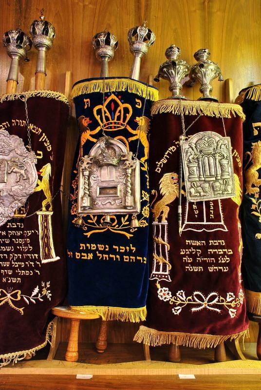Synagoge Dortmund - Thorarollen -