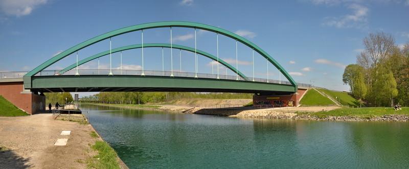Lindenhorster Brücke, Dortmund-Ems-Kanal