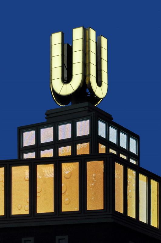 Dortmunder U, Dortmund - Installation von Adolf Winkelmann 2010