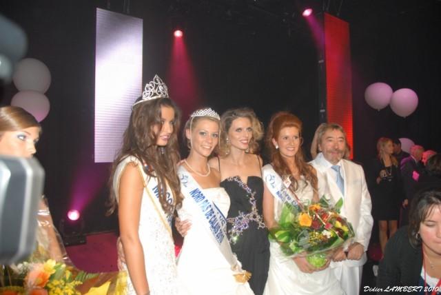 Avec Malika Ménard Miss France 2010