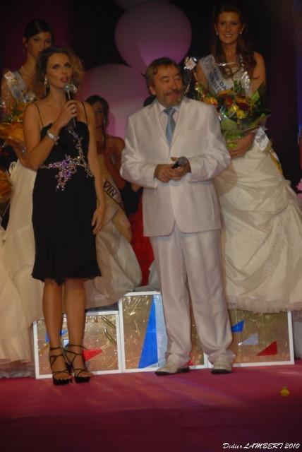 Dominique et Sylvie Tellier Présidente du Comité Miss France