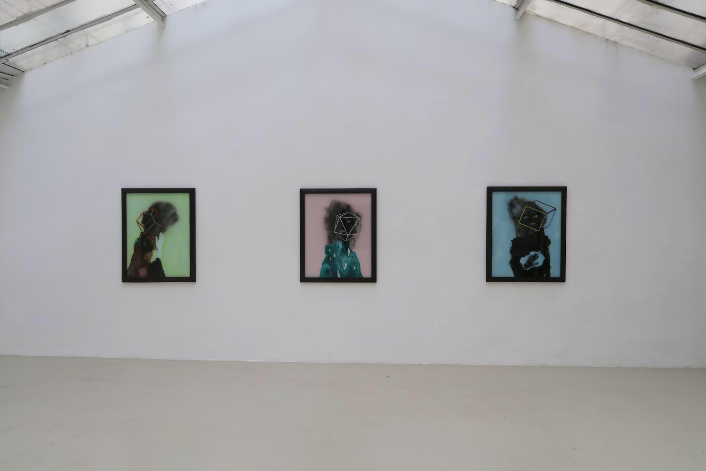 Les fantômes sont d'excellents géomètres 2018 Galerie Jean Brolly Paris