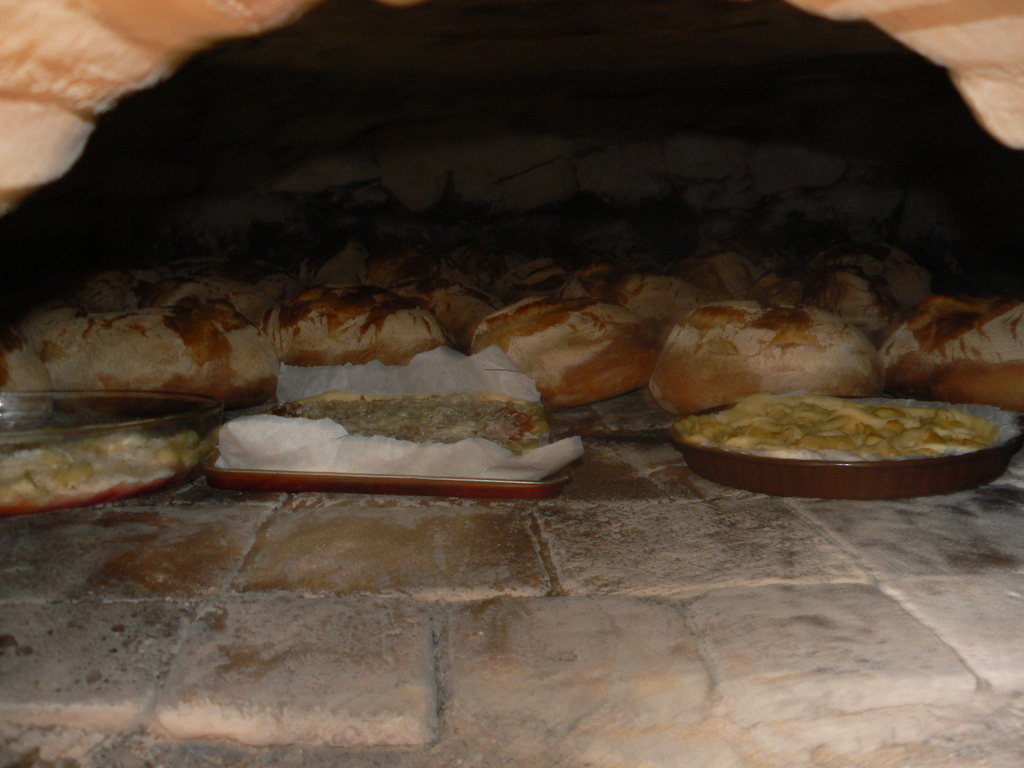 Le four à pain de l'abbaye